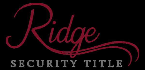 Ridge Security Title